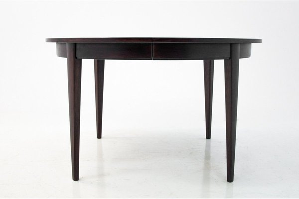 Rosewood Dining Table Chairs Set From Omann Jun 1960s Set Of 5 For Sale At Pamono