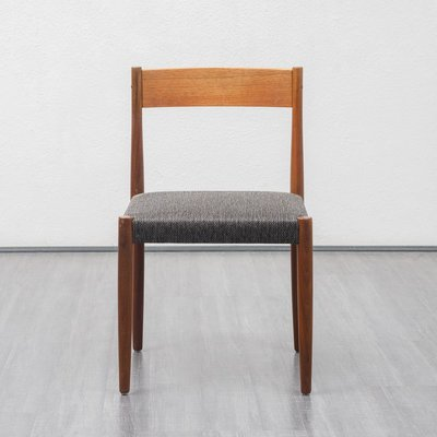 Teak Upholstery Dining Chairs 1960s Set Of 4 For Sale At Pamono