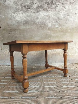 Vintage French Oak Dining Table 1950s Bei Pamono Kaufen