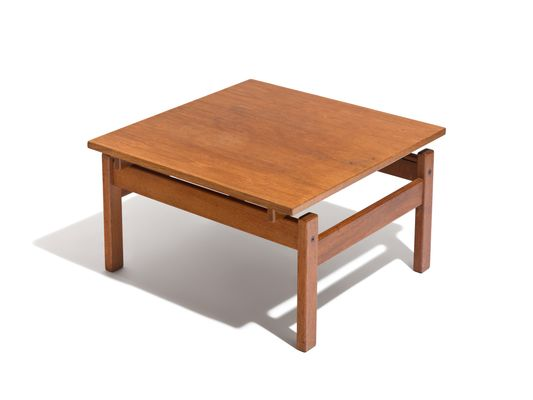 Wooden Side Table By Yngve Ekström For Swedese 1