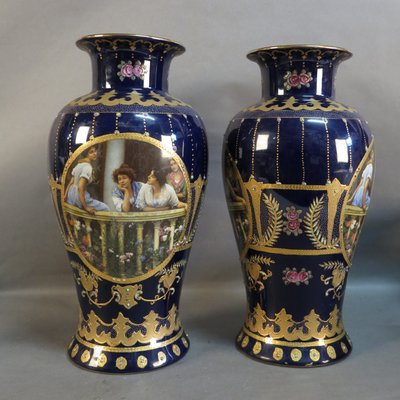 Art Nouveau Vases From Royal Limoges Set Of 2 For Sale At Pamono