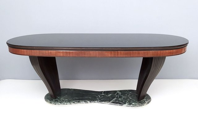 Marble And Opaline Glass Top Dining Table By Vittorio Dassi 1950s For Sale At Pamono