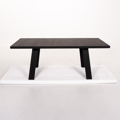 Black Wooden Tadeo Dining Table From Walter Knoll For Sale At Pamono