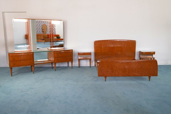 Vintage Bedroom Set By Paolo Buffa Set Of 4 1940s For Sale At Pamono