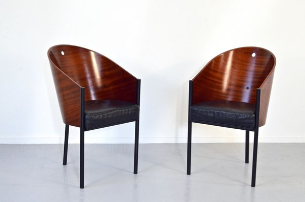 Living Room Bedroom Combo Ideas, Vintage Italian Enameled Steel And Plywood Costes Dining Chairs By Philippe Starck Set Of 4 For Sale At Pamono