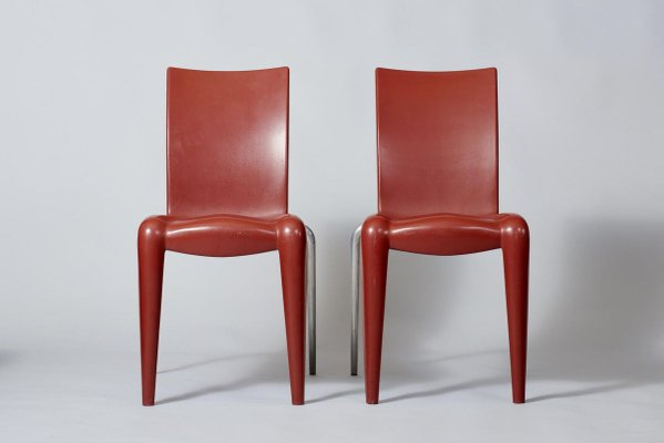 Living Room Bedroom Combo Ideas, Dining Chairs By Philippe Starck For Vitra 1990s Set Of 6 For Sale At Pamono