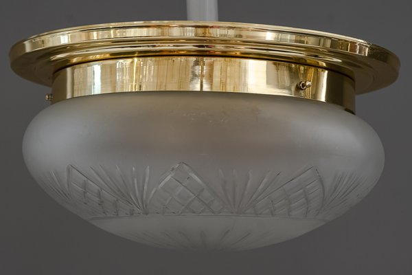 Large Art Deco Style Ceiling Lamp 1920s For Sale At Pamono