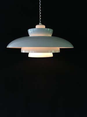 Vintage Danish Multi Layered Penta Pendant Lamp by Johannes Hammerborg for Fog & Mørup, 1960s