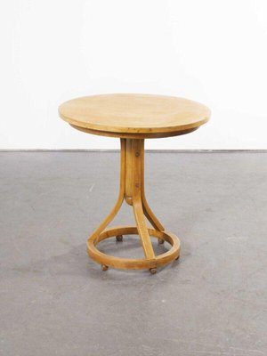 Small Round Table From Thonet Austria 1940s For Sale At Pamono