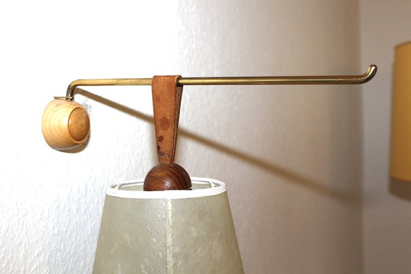 Model 4375 Eichhörnchen Wall And Table Lamp By J T Kalmar For Kalmar 1950s For Sale At Pamono