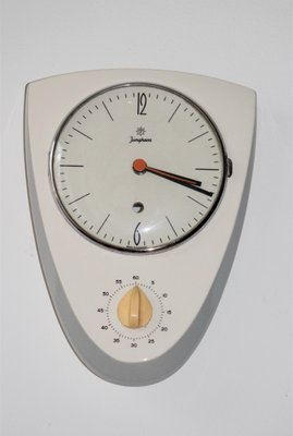 Ceramic Kitchen Clock With Timer From Junghans 1950s For Sale At Pamono