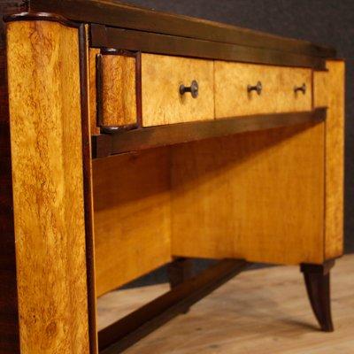 Italian Art Deco Style Writing Desk, Art Deco Style Writing Desk