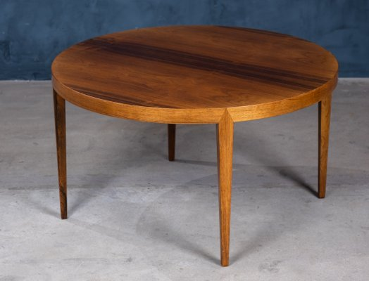 Mid Century Danish Rosewood Coffee Table by Severin Hansen for Haslev Møbelsnedkeri, 1950s