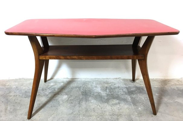 Vintage Italian Coffee Table By Cesare Lacca 1950s For Sale At Pamono