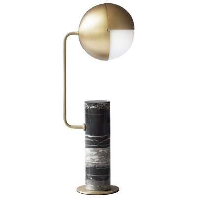 Brass Another Table Lamp Square In Circle For Sale At Pamono