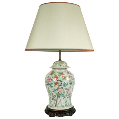 Antique Chinese Porcelain Table Lamp, Porcelain Table Lamp