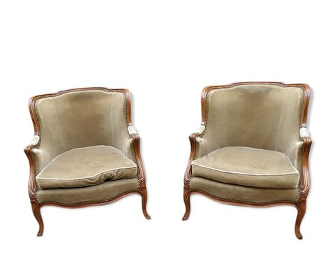 Antique Louis Xv Shepherdess Lounge, Louis Xv Furniture