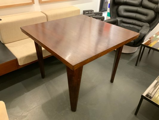 Wooden Dining Table By Le Corbusier And Pierre Jeanneret 1950s For Sale At Pamono