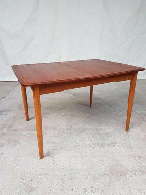Mid Century Norwegian Teak Dining Table For Sale At Pamono