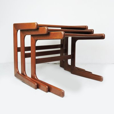 Danish Modern Nesting Tables From Salin Nyborg 1960s For Sale At Pamono