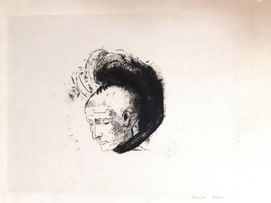 Le Mouvement Idealiste En Peinture Original Lithograph By O Redon 1896 1896 For Sale At Pamono
