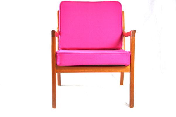 Vintage Teak Senator Easy Chair by Ole Wanscher for Cado for sale at ...