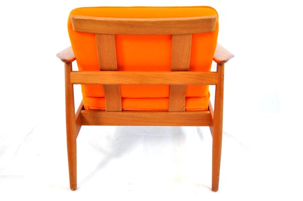 Teak Easy Chair By Arne Vodder For France And Son 3