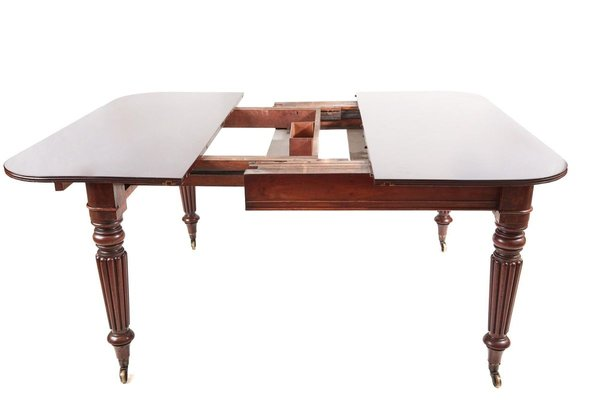 Antique William Iv Mahogany Extending Dining Table 1835 For Sale At Pamono