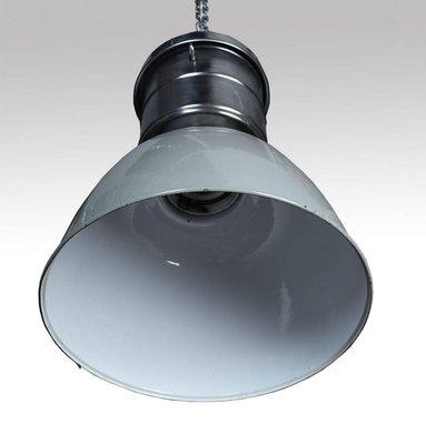 Great industrial lamp factory vintage 1950 75cm