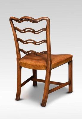 Chippendale Style Mahogany Ribbon Back Dining Chairs 1900s Set Of 8 Bei Pamono Kaufen