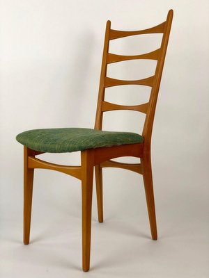 Mid Century Danish Modern Ladder Back Dining Chairs 1950s Set Of 6 Bei Pamono Kaufen