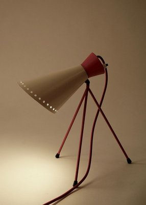 Mid Century Tripod Table Lamp By Josef Hurka For Napako 1954 For Sale At Pamono