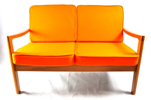 Danish Senator Two-Seater Sofa by Ole Wanscher for Poul Jeppesen 1  sc 1 st  Pamono & Danish Senator Two-Seater Sofa by Ole Wanscher for Poul Jeppesen for ...