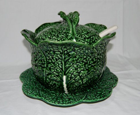 Soup Tureen In The Shape Of Cabbage En Vente Sur Pamono