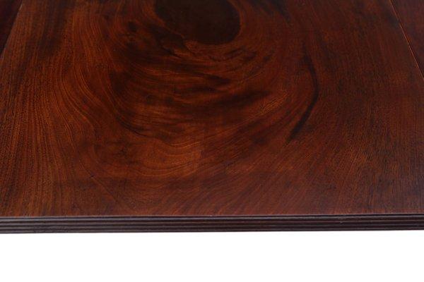 Large Antique Cuban Mahogany Extendable Triple Pedestal Dining Table 1820s Bei Pamono Kaufen