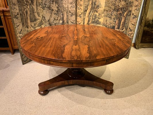 Antique William Iv Rosewood Dining Table For Sale At Pamono