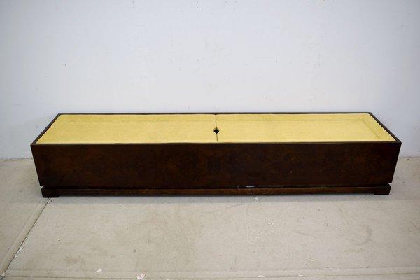 Italian Art Deco Style Bench 1960s