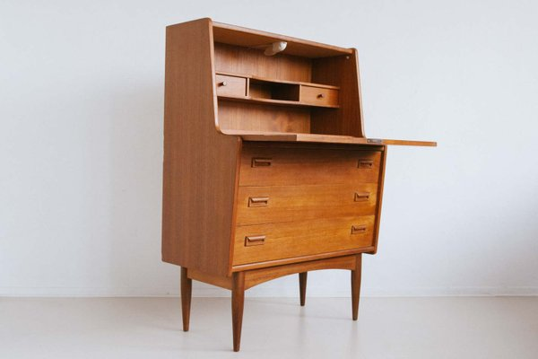 Magnificent Vintage Dutch Teak Secretary Home Interior And Landscaping Mentranervesignezvosmurscom