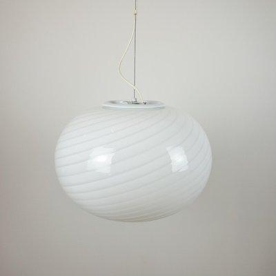 Murano coloured lamp De Majo space age Made in Italy 1960s