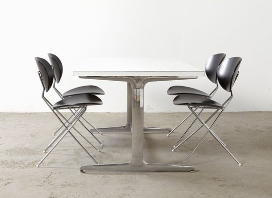 Mid Century Dining Table By George Nelson For Herman Miller For Sale At Pamono