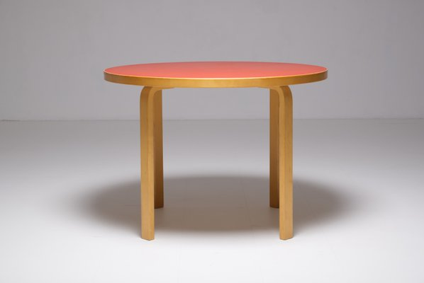 Dining Table By Alvar Aalto For Artek 1990s For Sale At Pamono