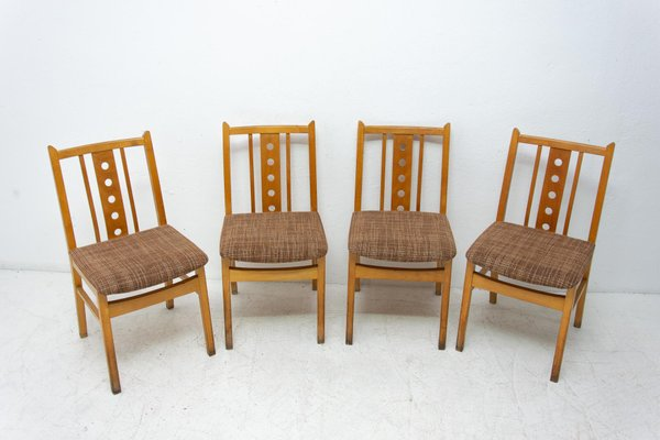 Mid Century Dining Chairs 1960s Set Of 4 Bei Pamono Kaufen