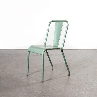 T37 Metal Cafe Outdoor Dining Chairs By Xavier Pauchard For Tolix 1960s Set Of 2 Bei Pamono Kaufen