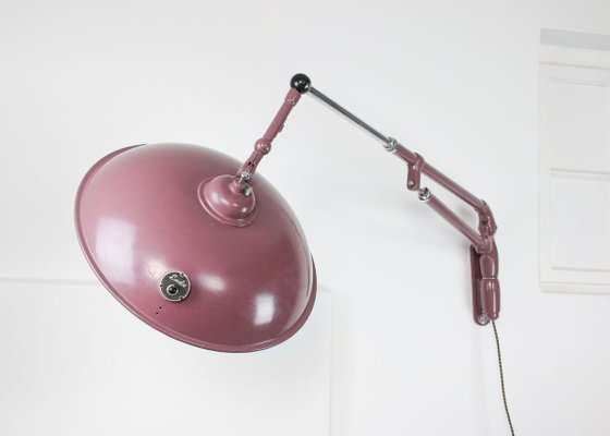 Large Industrial Wall Lamp From Emda 1920s For Sale At Pamono