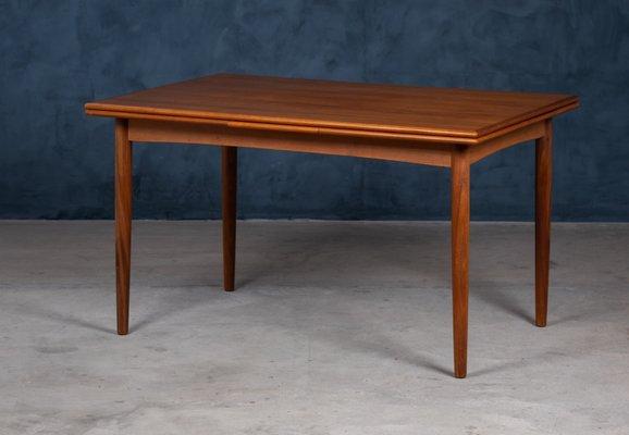 Vintage Danish Teak Extendable Dining Table 1960s Bei Pamono Kaufen