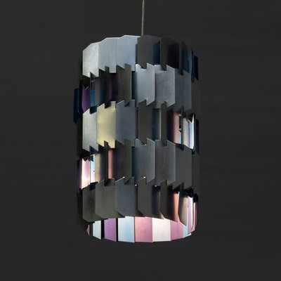Facet Hanging Lamp By Louis Weisdorf For Lyfa 1960s For Sale At Pamono