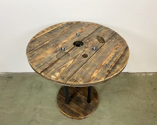 Industrial Circle Coffee Table 1960s For Sale At Pamono