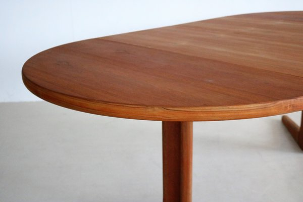 Vintage Round Extendable Dining Table Bei Pamono Kaufen