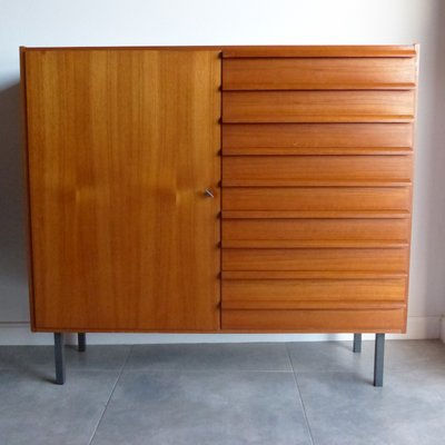 Danish Vintage Chest with 9 Drawers, 1950s 2 - Danish Vintage Chest With 9 Drawers, 1950s For Sale At Pamono