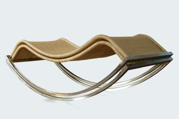 1040cb6265cb Chaise Longue à Bascule Siesta par Luis Ramírez en vente sur Pamono